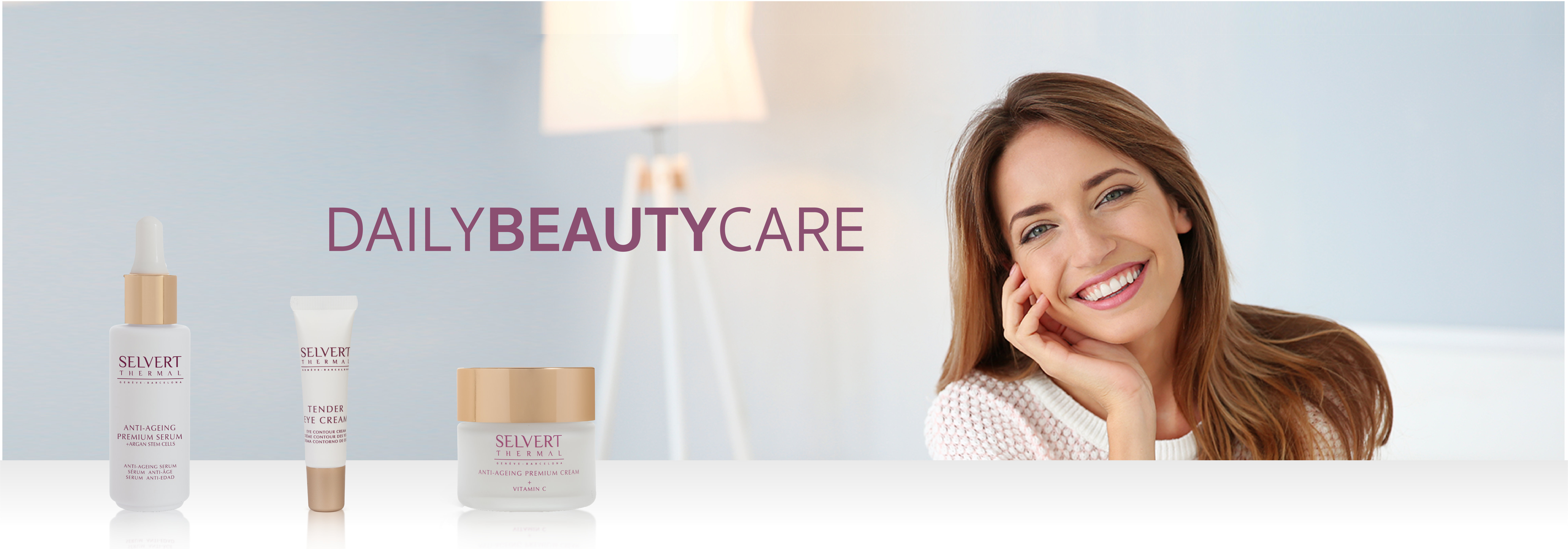 "DAILY BEAUTY CARE <h4 style=""text-align: center;"">BIOSACCHARIDES. PERFECT FOR SENSITIVE SKIN</h4>